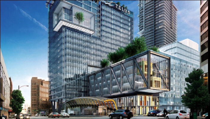 TELUS GARDEN OPERATIONS OFFICE City Wide Building Inc